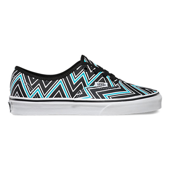 Vans Blue And Black
