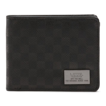 Checked Up Bifold Wallet