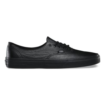 Vans Shoes Premium Leather Authentic Decon (black/black)