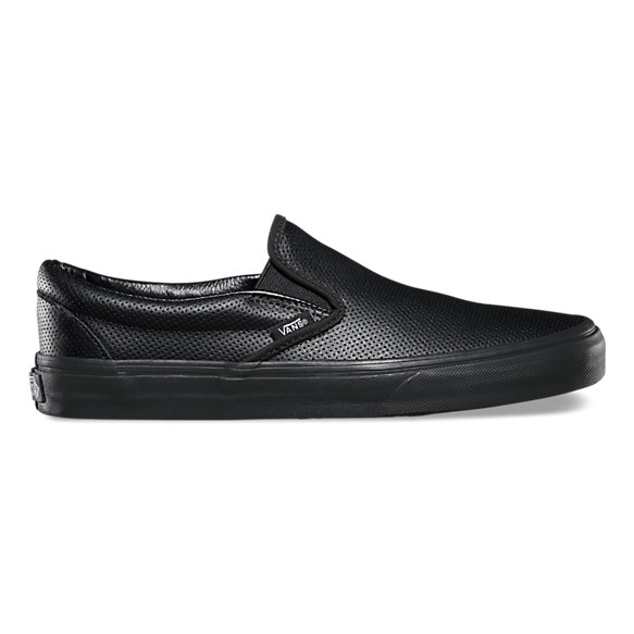 perf leather slip on shop classic shoes at vans. Black Bedroom Furniture Sets. Home Design Ideas