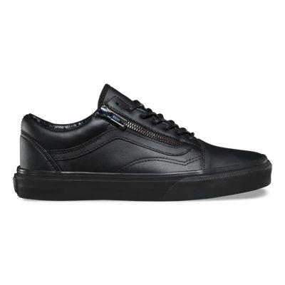 Vans Gunmetal Old Skool Zip (black/black)