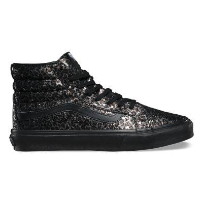 Vans Metallic Leopard SK8-Hi Slim (black/black)