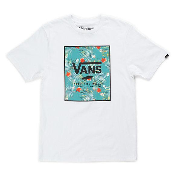 Boys print box t shirt shop at vans