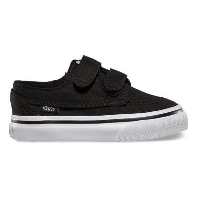 Vans Shoes Toddlers Brigata V (black/true white)