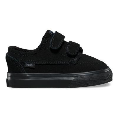 Vans Toddlers Suede Brigata V (black/black)