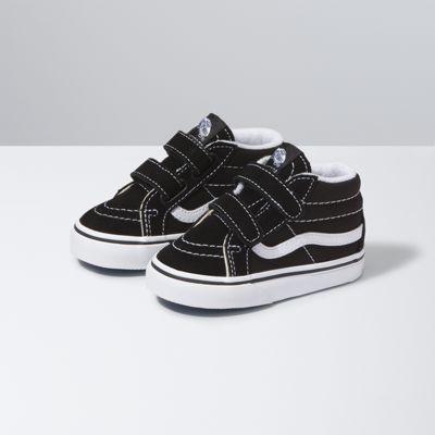 Vans Shoes Toddlers SK8-Mid Reissue V (black/true white)