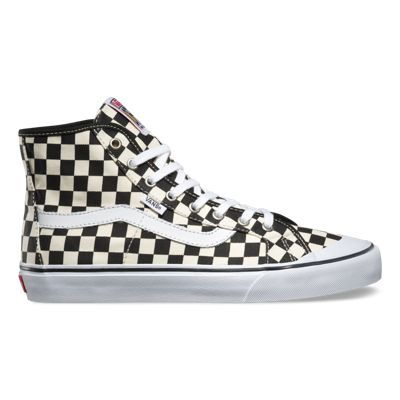 Vans Shoes Black Ball Hi SF (Checkerboard black/white)