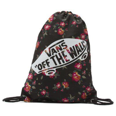 Vans Benched Novelty Bag (Floral Black Black)