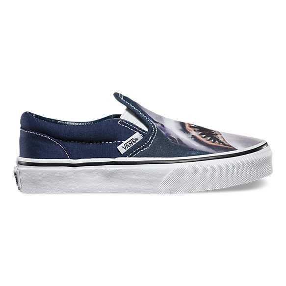 Kids Digi Shark Slip-On | Shop Boys Shoes At Vans