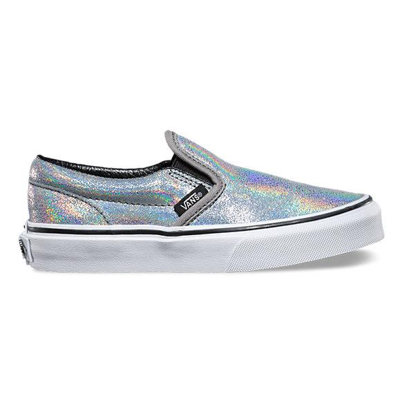 Kids Matte Iridescent Slip-On | Shop Girls Shoes At Vans