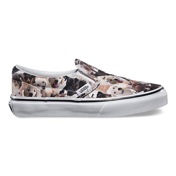 Kids ASPCA Classic Slip-On | Shop Girls Shoes At Vans