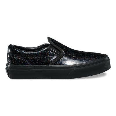 Vans Kids Patent Galaxy Slip-On (black/black)