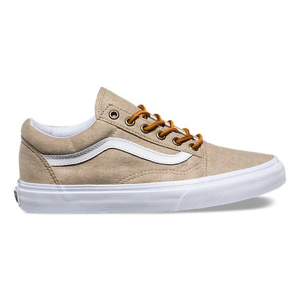 Tan Vans Boat Shoes