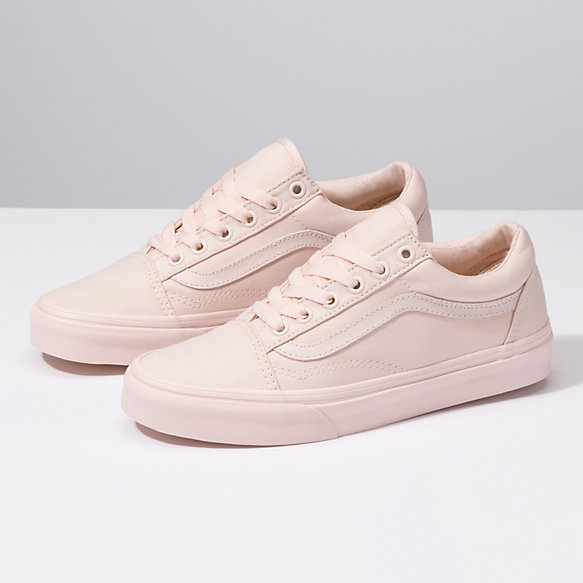 womens old skool vans pink