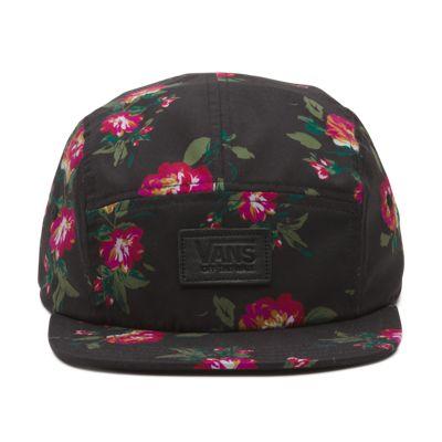 Vans Gwen Camper Hat (Floral Black Black)