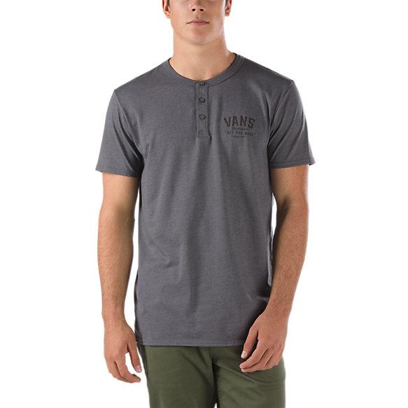 Graphic henley t shirt shop mens t shirts at vans for Graphic t shirt shop