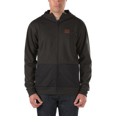 Vans Rimini Mountain Edition Zip Hoodie (Pirate Black/Black)
