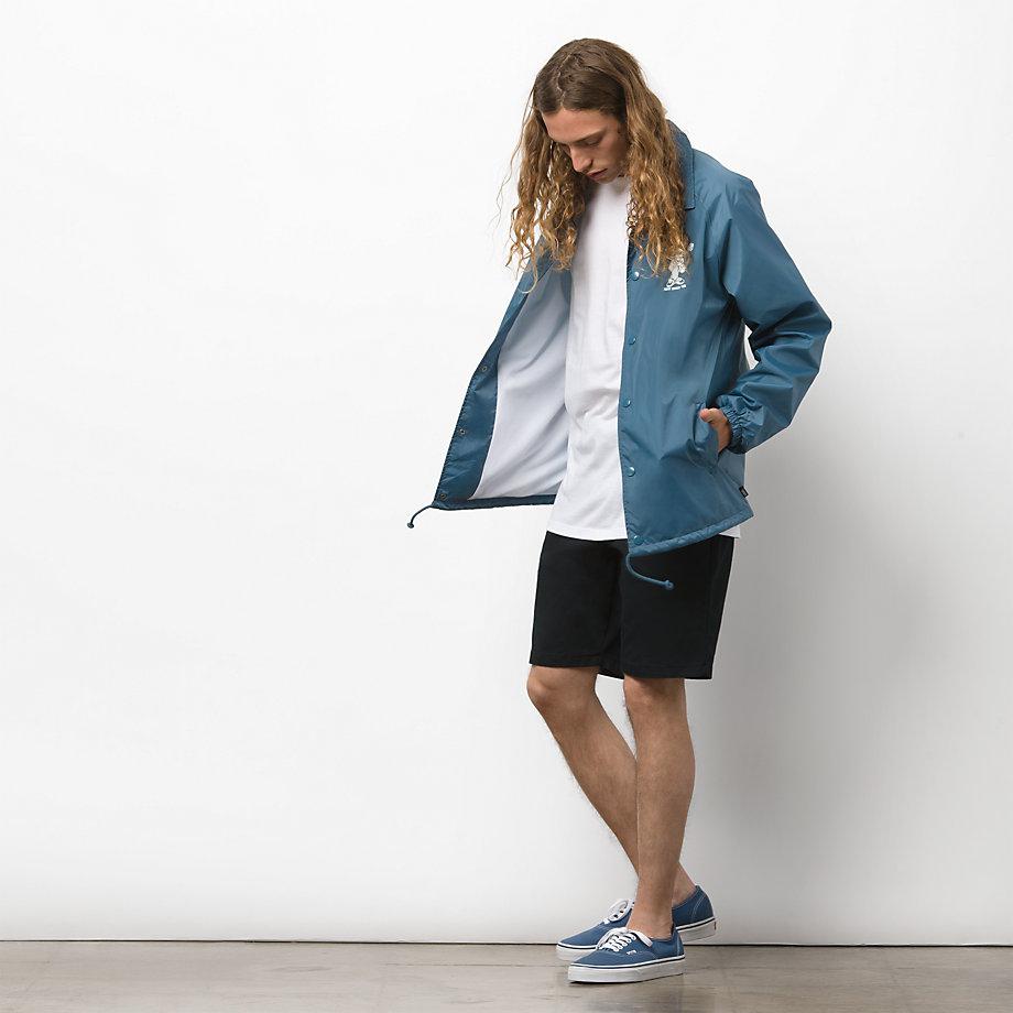 Vans Torrey Coaches Jacket (real Teal)  3927b7fd1