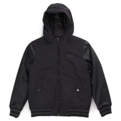 Vans Boys Rutherford Jacket (Black/Black) Jackets