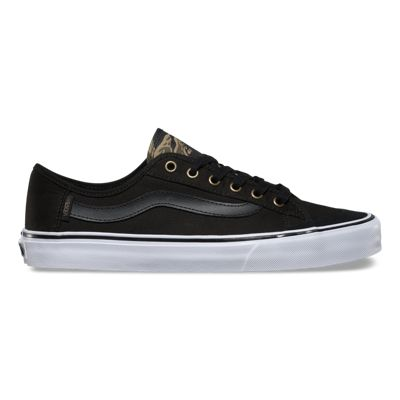 Vans Mens Black Ball SF (Black/Vintage Camo)
