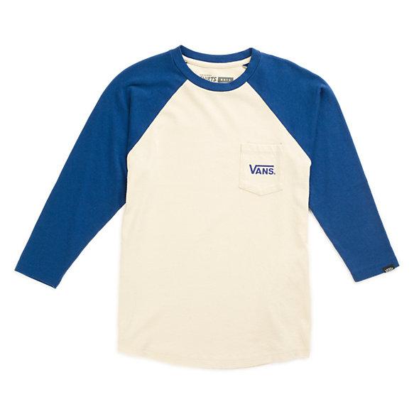 Boys drop v pocket raglan t shirt shop boys shirts at vans for Boys pocket t shirt