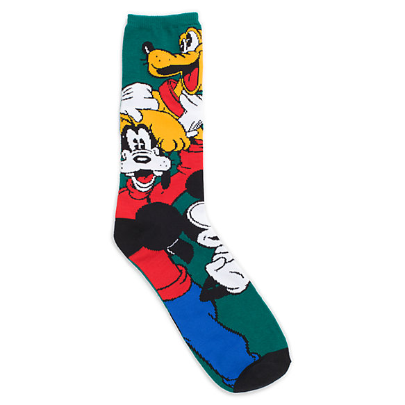 Disney Mickey Mouse Mens Socks Fashion Knit Crew 2 Pack. by Disney. $ - $ $ 11 $ 12 99 Prime. FREE Shipping on eligible orders. Some sizes/colors are Prime eligible. out of 5 stars Product Features Features Disney's Mickey Mouse Novelty crew style sock set; 2 pack. Disney .