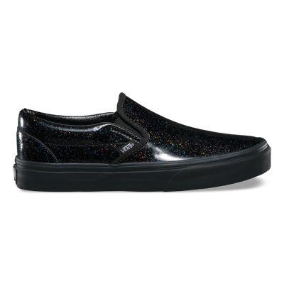 Vans Shoes Patent Galaxy Slip-On (black/black)