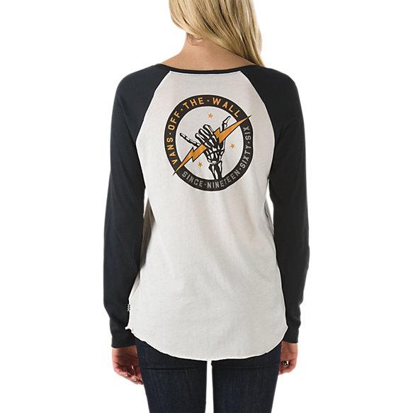 Bolt Bones Raglan T Shirt Vans Ca Store