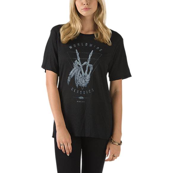 Enyak Boyfriend T Shirt Shop Womens Tees At Vans