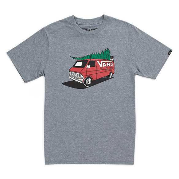 boys vans family christmas t shirt shop boys shirts at vans. Black Bedroom Furniture Sets. Home Design Ideas