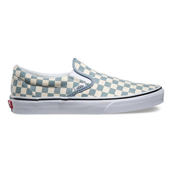 checkerboard slip on shop classic shoes at vans