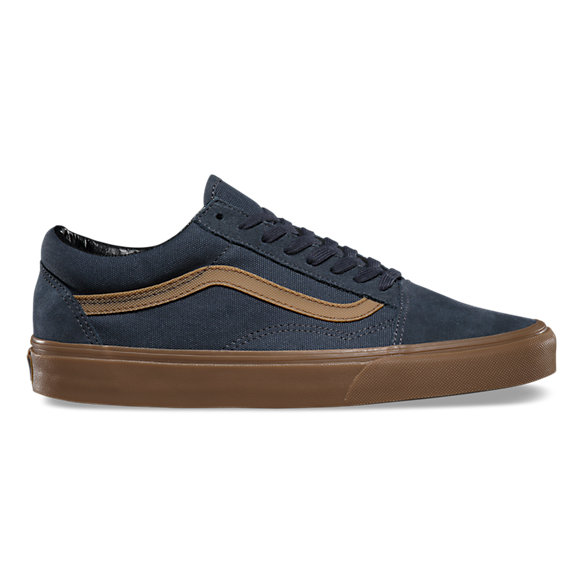 old skool vans blue gum