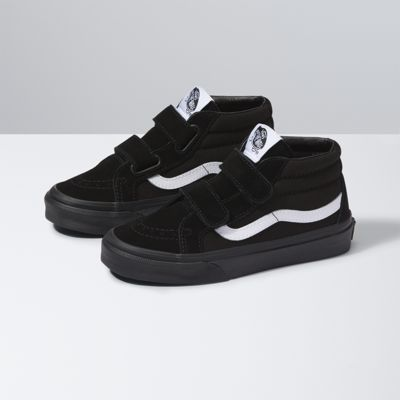 Vans Kids Canvas Suede SK8-Mid Reissue V (black/black)