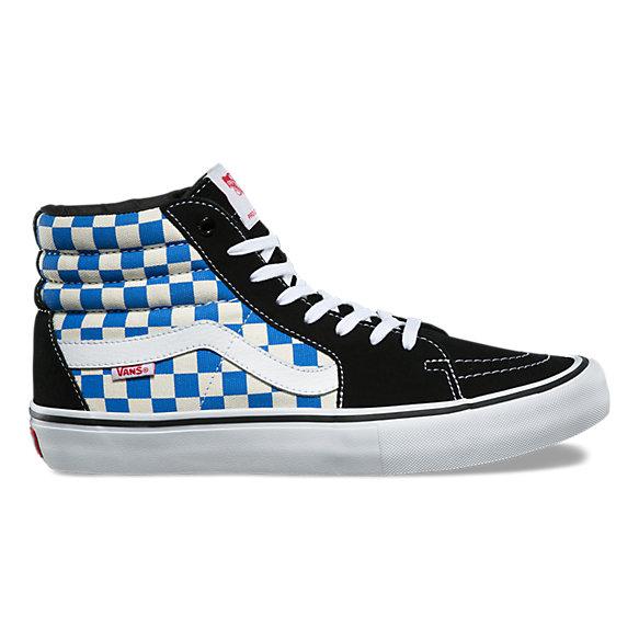 Checkerboard Sk8 Hi Pro by Vans