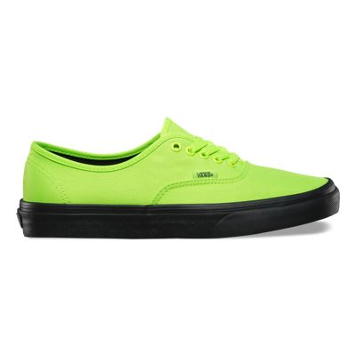 Vans Black Outsole Authentic (neon green/black)