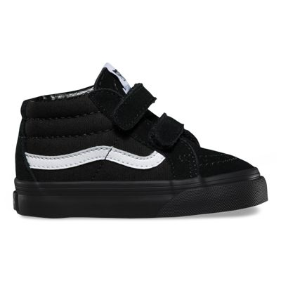 Vans Toddler Canvas Suede SK8-Mid Reissue V (black/black)