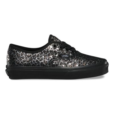Vans Kids Metallic Leopard Authentic (black/black)