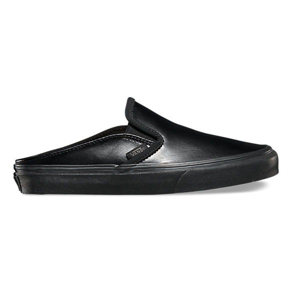 Leather Slip-On Mule | Shop Womens Shoes At Vans