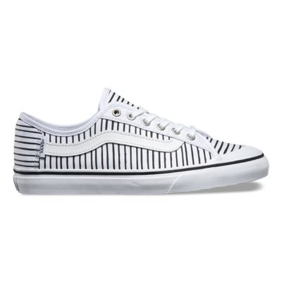 Vans Black Ball SF (Just Stripes true white/black)