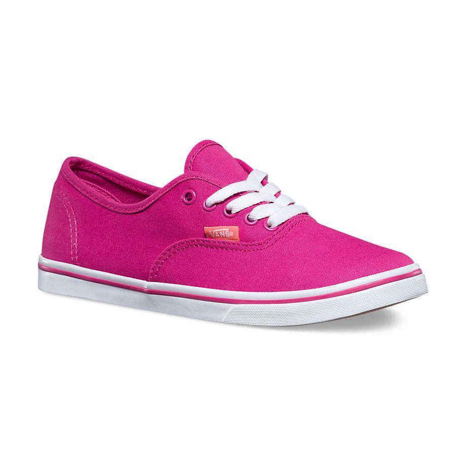 Vans Canvas Authentic Lo Pro (lilac Rose/burnt Coral)