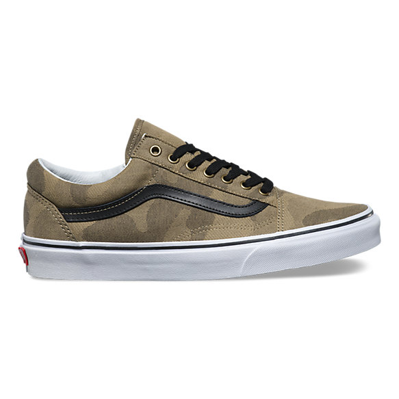 Camo Jacquard Old Skool