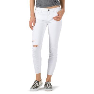 Vans Destructed Skinny Jean (White)