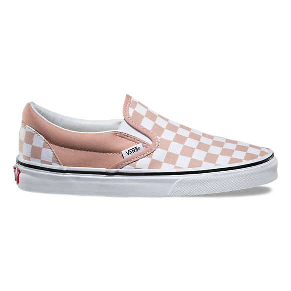 Vans Shoes Pink And Grey