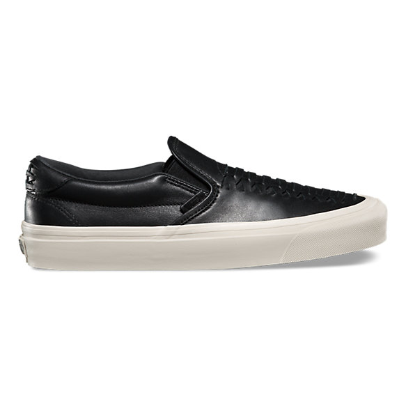 Leather Slip-On Weave DX