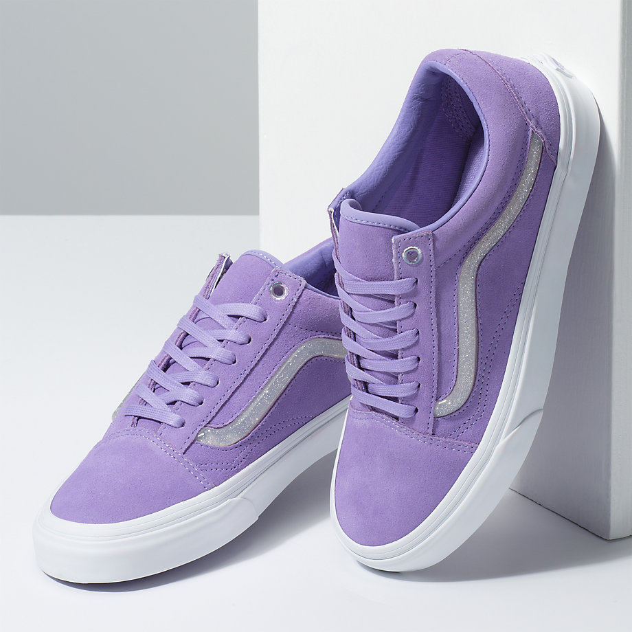 e31c67f9cd89 Vans Jelly Sidestripe Old Skool (violet Tulip true White)