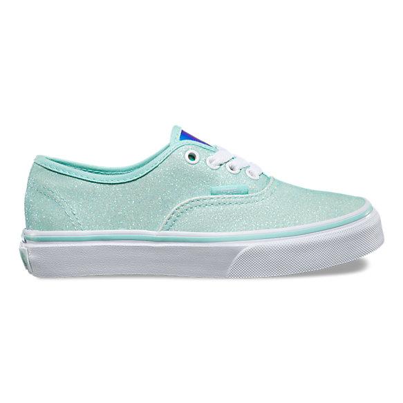 Kids glitter amp iridescent authentic shop kids shoes at vans