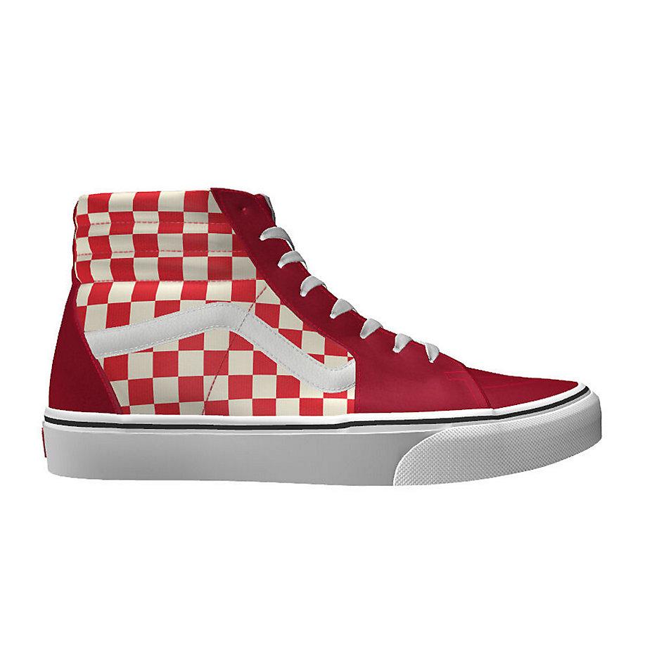 b15be378f4 Vans Customs Sk8-hi Color Theory Red Check (custom)