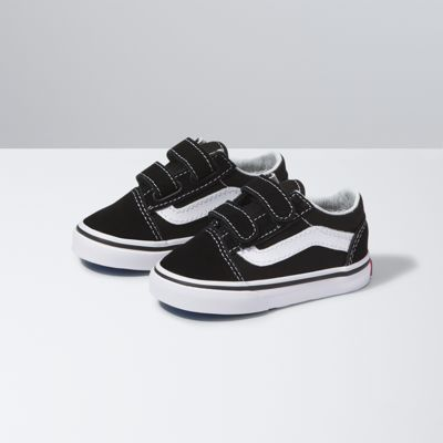 Vans Shoes Toddlers Old Skool V (Black)