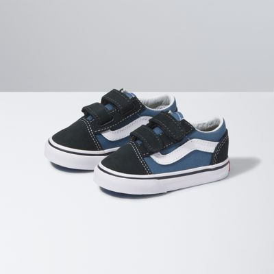 Vans Shoes Toddlers Old Skool V (Navy)