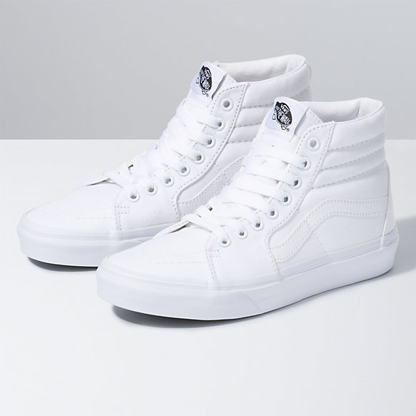 Canvas Sk8-Hi | Shop Womens Shoes at Vans